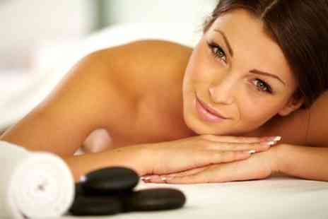 DO NOT USE Salmas Beauty Academy - Hot Stone Massage Plus Facial - Save 68%
