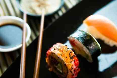 Cool Sushi - Sushi and Sake For Two - Save 66%