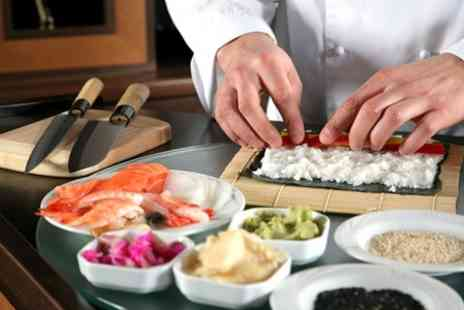 The Sherwood Cookery Workshop - Sushi Making Three Hour Workshop With 16 Take Home Pieces - Save 46%
