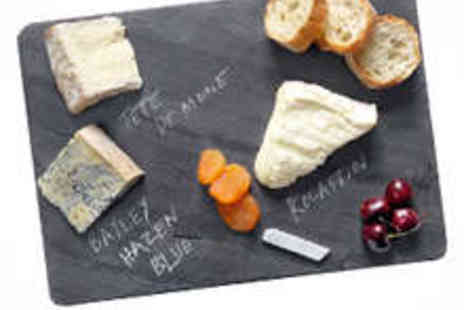 46 Forty Six - Cheese Platter Slate Board - Save 50%