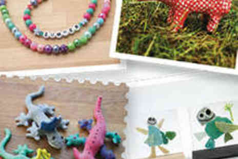 The Bead Shop - Arts and Craft Workshop for Up to Four Children - Save 60%