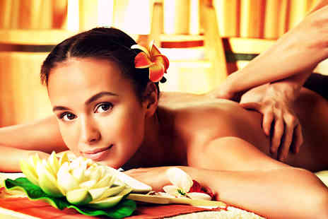 Sapianos - Two hour pamper package including massage facial & mani or pedi - Save 77%