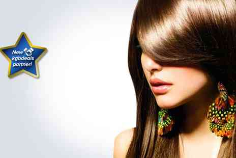 Lauren Dune Hairdressing - A cut, blow dry and luxury Moroccan oil treatment - Save 62%