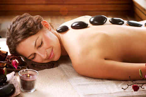 Relax - 60 minute full body Swedish aromatherapy relaxation or hot stone massage - Save 62%