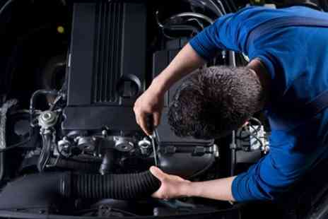 Valentine Motors - 50 Point Car Service Including Oil and Filter Change - Save 63%