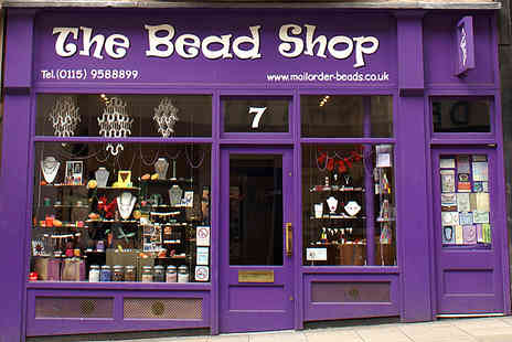 The Bead Shop - Full day making workshop - Save 58%