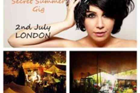 Tiger World PR & Events - One Secret Summer Gig Tiger Lilly - Save 50%