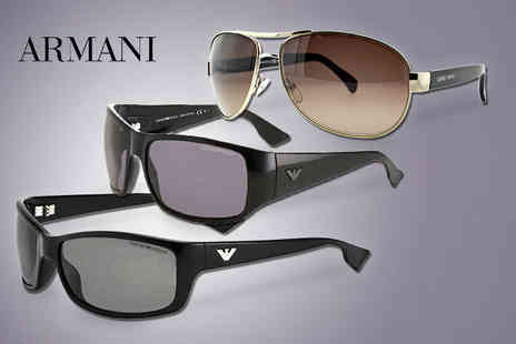 Fashion Eyewear - Aair of Armani sunglasses - Save 61%
