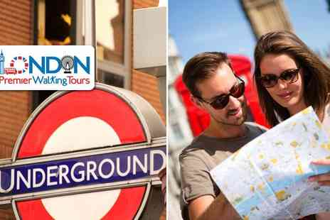 London Premier Walking Tours - A London Underground Treasure Hunt for two people - Save 52%