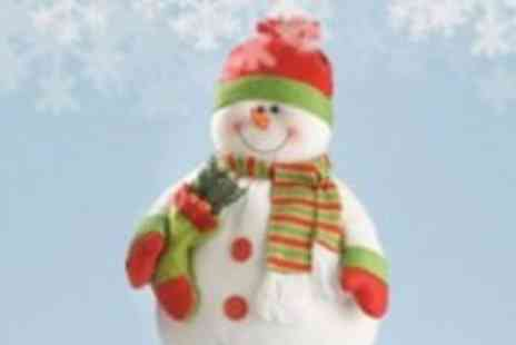 Xmas Decorations Car Boot - Snowman Dangly Legs Ornament - Save 71%