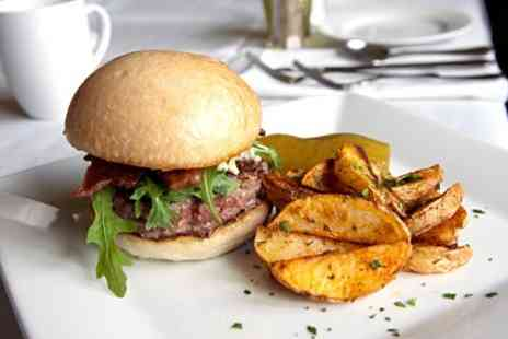 THE WILLIAM IV - Burger and Beer For Two - Save 53%