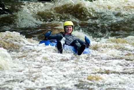 White Water Tubing UK - White Water Rafting Experience For One - Save 54%