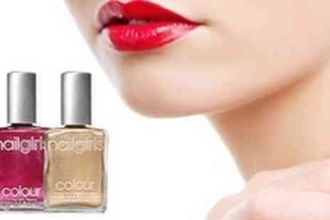 Nail Girls - Choice of Manicure or Pedicure - Save 60%