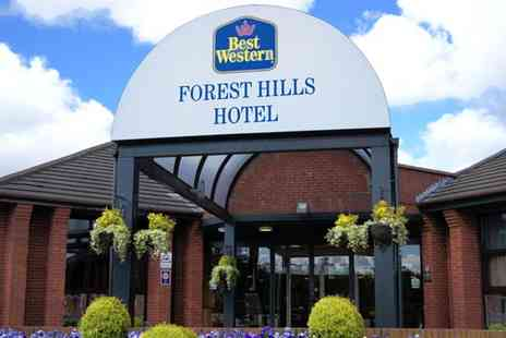 Best Western Forest Hills Hotel - Afternoon Tea for Two - Save 50%