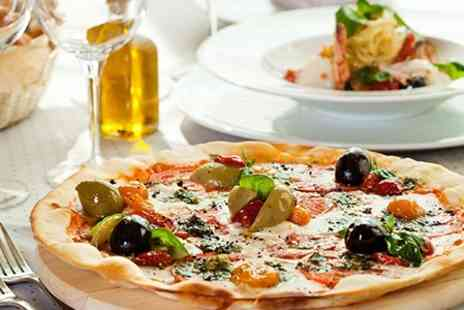 Lucca Bar & Kitchen - Pizza Pasta or Burger With Side For Two - Save 45%