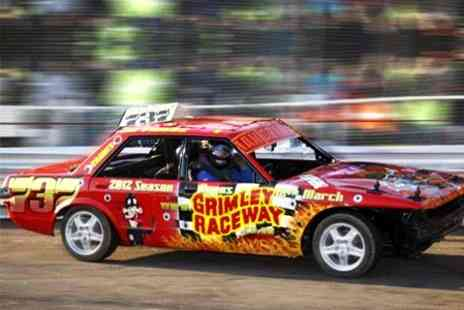 Grimley raceway - Stock Car and Banger Racing Ticket For Family of Four - Save 60%