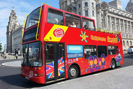 City Sightseeing - An open top city sightseeing tour for up to a family of 5 - Save 60%