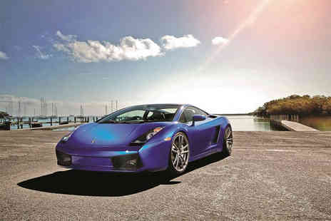 Supercars Scotland - One hour supercar on road driving experience - Save 80%