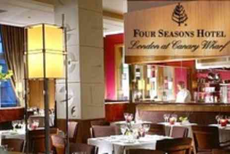 The Four Seasons Hotel - Five Course Tasting Menu for Two - Save 57%