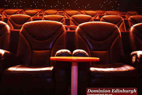 Dominion Cinema - Two Gold Class Cinema Tickets to Any Film Sunday to Thursday - Save 62%