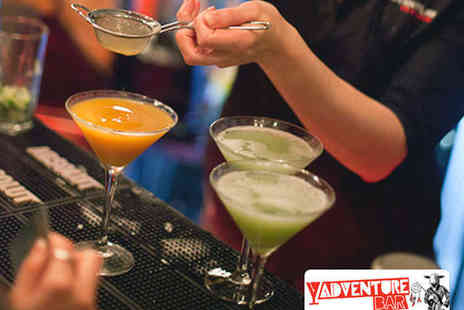Adventure Bar - Two Cocktails Each for Two People - Save 69%