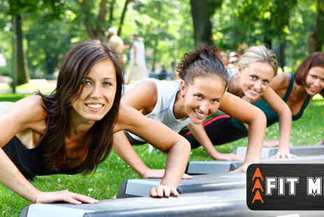 AAA Fit ME - 10 Hour long Outdoor Bootcamp classes in Regents Park - Save 78%