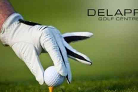 Delapre Golf Centre - Unlimited Golf For Two Plus Hot Meal Each And Trolly Hire - Save 77%