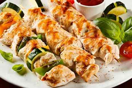 Pizzaholic - One Kebabs With Chips - Save 49%