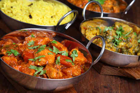 Ruchita - Indian meal for two including main & rice  - Save 52%