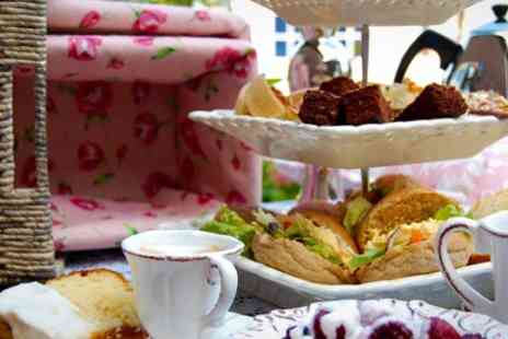 Cliffs Pavilion - Pink Champagne Afternoon Tea for Two - Save 62%