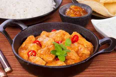 Curryosity - Two Course Indian Meal With Beer For Two - Save 58%