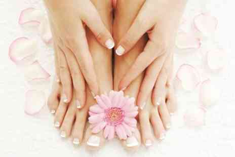 Vintage Beauty Harbourne - Luxury Gel Mani or Pedi - Save 75%