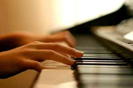 Blore Music Academy - Five Keyboard Piano or Violin Lessons - Save 65%