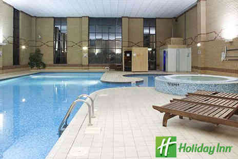 Holiday Inn Rotherham - Relax Day with Choice of Two Treatments Including Use of Leisure Facilities - Save 61%