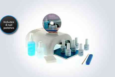 Gellure - A professional Hybrid Gel Polish Home & Salon Use Starter Kit - Save 68%