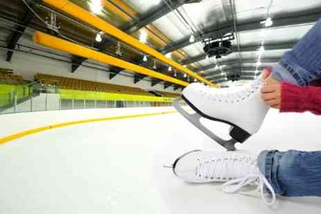 Telford Ice Rink - Two Hour Skating Session For Family of Four - Save 65%