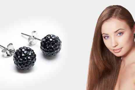 Essential Silver - Crystal Earrings - Save 50%