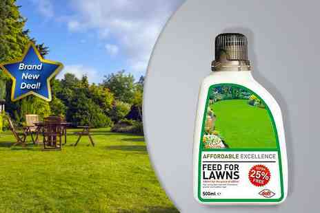 Adenthorn Living - Four bottles of Doff lawn feed - Save 40%