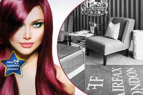 Fairfax London - A cut and blow dry plus an intensive conditioning treatment - Save 74%