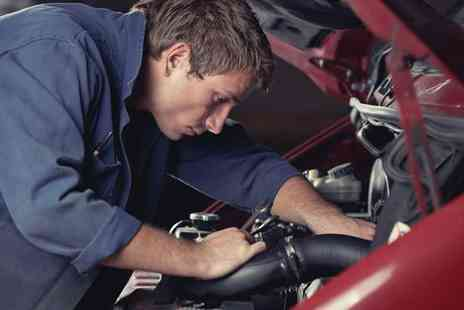 A1 Diagnostics - A car service and oil change plus MOT - Save 81%