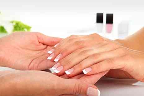 Distant Shores Beauty Salon - Gel Manicure or Pedicure Plus Facial - Save 54%