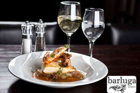 Barluga Morpeth - Two Course Meal for Two  - Save 51%