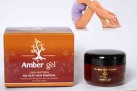 AMBER GEL - Natural Gel No Heat Hair Removal - Save 62%