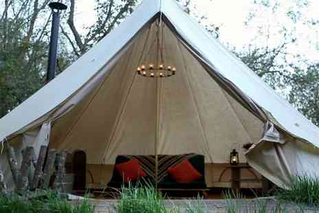 Dernwood Farm - 2 Night luxury glamping break for up to 4 people - Save 45%