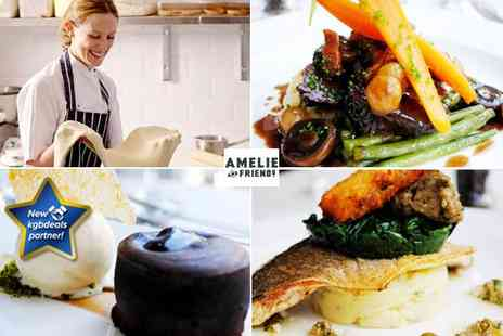 Amelie and Friends - Three course meal for two people - Save 17%