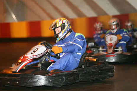 M4 Karting - 30 Lap Go Karting Experience for One - Save 63%
