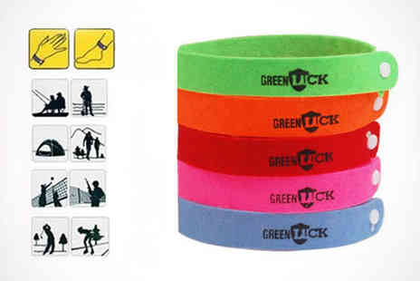 Dodally Buys - Pack of Three Mosquito Repellent Bracelets - Save 57%
