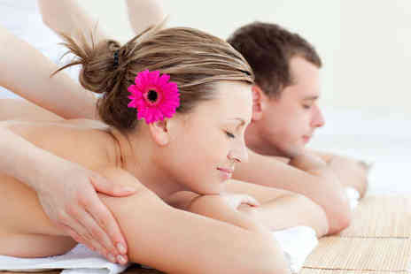 Treat & Revive Spa - Swedish Massage Elemis Facial and Scalp Massage for Two - Save 79%