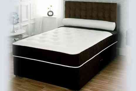 SleepyKing - 3 memory foam divan bed with mattress - Save 43%
