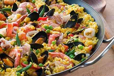 The Windsor Hotel - Paella Meal For Two - Save 60%
